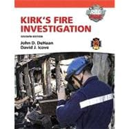 Kirk's Fire Investigation with MyFireKit Student Access Code Card Package