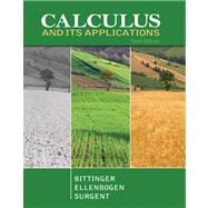 Calculus and Its Applications plus  MyMathLab with Pearson eTex t -- Access Card Package