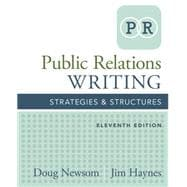 Public Relations Writing Strategies & Structures