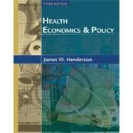 Health Economics and Policy with Economic Applications