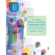 Basic Business Communication : Skills for Empowering the Internet Generation