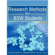 Research Methods for BSW Students