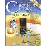CHOW TO PROGRAM...C++ & JAVA