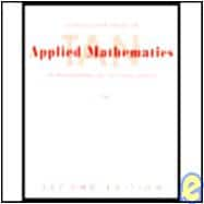 S.S.M. Applied Math F/The Managerial, Life & Soc Sci 02