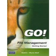 GO! with File Management Getting Started