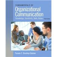 Fundamentals of Organizational Communication, 9/e