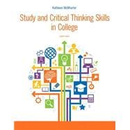 Study and Critical Thinking Skills in College PLUS MyStudentSuccessLab with Pearson eText -- Access Card Package