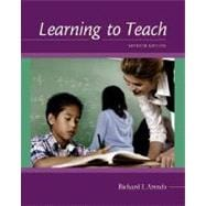 Learning to Teach with Online Learning Center Card with PowerWeb and Student CD-ROM