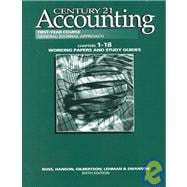 Century 21 Accounting Chpts. 1-19 : Working Papers