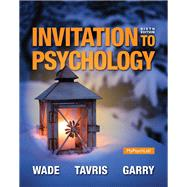 Invitation to Psychology Plus NEW MyPsychLab with Pearson eText -- Access Card Package