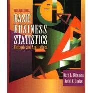 Basic Business Statistics : Concepts and Applications