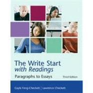 The Write Start with Readings Paragraphs to Essays