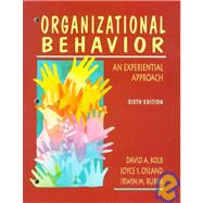 Organizational Behavior: An Experiential Approach