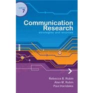Communication Research: Strategies and Sources, 7th Edition