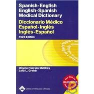 Spanish-English English-Spanish Medical Dictionary Diccionario M�dico Espa�ol-Ingl�s Ingl�s-Espa�ol
