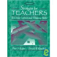Strategies for Teachers : Teaching Content and Thinking Skills