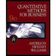 Quantitative Methods for Business with EasyQuant Tutor for Excel