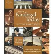 West's Paralegal Today : The Legal Team at Work