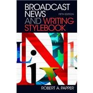 Broadcast News and Writing Stylebook Plus MySearchLab -- Access Card Package