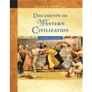 Documents of Western Civilization Volume II: Since 1500