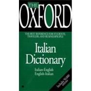 Oxford Italian Dictionary : Italian-English, English-Italian