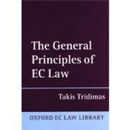 The General Principles of Ec Law