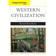 Cengage Advantage Books: Western Civilization Beyond Boundaries, Volume I