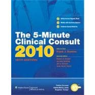 The 5-Minute Clinical Consult 2010 (Print, Website, and Mobile)