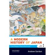 A Modern History of Japan From Tokugawa Times to the Present