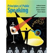 Principles of Public Speaking