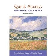 Quick Access Plus MyWritingLab with Pearson eText -- Access Card Package