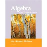 Algebra for College Students plus MyMathLab/MyStatLab -- Access Card Package