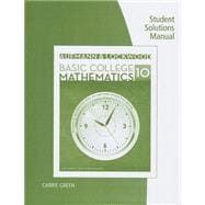Student Solutions Manual for Aufmann/Lockwood's Basic College Math: An Applied Approach, 10th