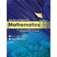 Developmental Mathematics plus MyMathLab/MyStatLab -- Access Card Package