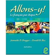 Allons-y! Text/Audio CD/Quia Passcard Pkg.: Le Frantais par Ttapes