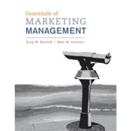 Essentials of Marketing Management with Connect Plus