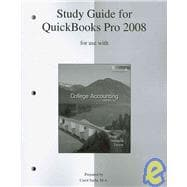 Quickbooks Pro 2008 Templates with Student Guide to accompany College Accounting