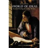 A World of Ideas; Essential Readings for College Writers