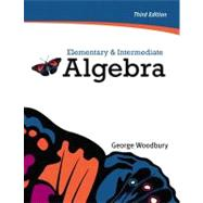 Elementary & Intermediate Algebra plus MyMathLab/MyStatLab -- Access Card Package