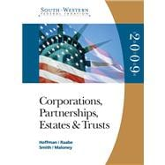 South-Western Federal Taxation 2009 Corporations, Partnerships, Estates and Trusts (with TaxCut Tax Preparation Software CD-ROM)