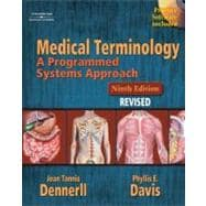Medical Terminology A Programmed Systems Approach Revised