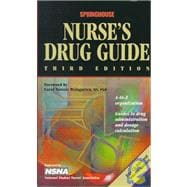 Springhouse Nurse's Drug Guide