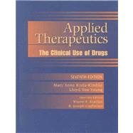 Applied Therapeutics: the Clinical Use of Drugs, Seventh Edition, with Facts and Comparisons: Drugfacts Plus