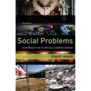 Social Problems : An Introduction to Critical Constructionism