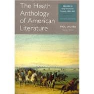 The Heath Anthology of American Literature Volume B