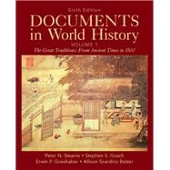 Documents in World History, Volume 1