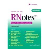 Rnotes: Nurse's Clinical Pocket Guide