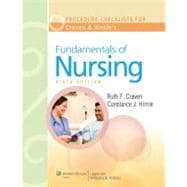 Procedure Checklists to Accompany Craven and Hirnle's Fundamentals of Nursing: Human Health and Function, Sixth Edition