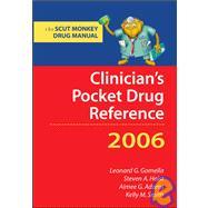 Clinician's Pocket Drug Reference 2006