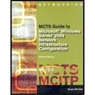 Bundle Sp+6 Mcts Guide T/Confgrng Ms Wnd Srvr 08 Ntwk Infrstr